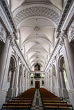Abbey cathedral interior Stock Photos
