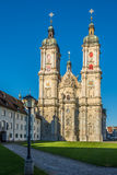 Abbey Cathedral of St.Gallen in Switzerland Stock Photos