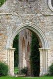 abbey cernay de vaux Arkivfoton