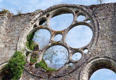 abbey cernay de vaux Royaltyfria Foton