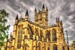 Abbey Church av St Peter och Saint Paul i bad Royaltyfria Bilder