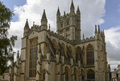 Abbey Church, Bath stock image