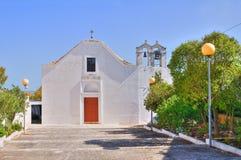 Abbey Church de Santa Ana. Ceglie Messapica. Puglia. Italia. Imagen de archivo