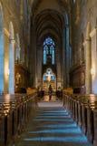 Abbey Church Heiligenkreuz cisterciense en Austria Fotos de archivo libres de regalías
