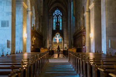 Abbey Church Heiligenkreuz cisterciense en Austria Fotos de archivo