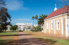 Abbey Church and Monastery Stock Photo