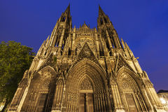 Abbey church of Saint-Ouen in Rouen Royalty Free Stock Image