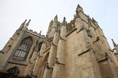 The Abbey Church of Saint Peter and Saint Paul, Bath, commonly k. Nown as Bath Abbey, Somerset England UK Europe Royalty Free Stock Image