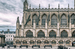 The Abbey Church of Saint Peter and Saint Paul aka Bath Abbey Stock Images