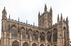 The Abbey Church of Saint Peter and Saint Paul aka Bath Abbey Stock Photo