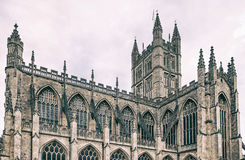 The Abbey Church of Saint Peter and Saint Paul aka Bath Abbey Stock Photography