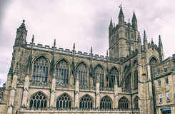 The Abbey Church of Saint Peter and Saint Paul aka Bath Abbey Stock Image