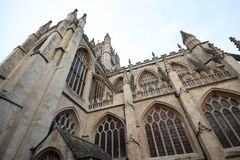 The Abbey Church of Saint Peter and Saint Paul, Bath, commonly k. Nown as Bath Abbey, Somerset England UK Europe Royalty Free Stock Photography
