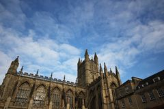 The Abbey Church of Saint Peter and Saint Paul, Bath, commonly k. Nown as Bath Abbey, Somerset England UK Europe stock photos