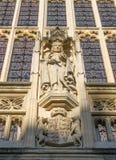 Bath Abbey - sculpture detail. Royalty Free Stock Image