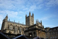 The Abbey Church of Saint Peter and Saint Paul, Bath, commonly k. Nown as Bath Abbey, Somerset England UK Europe Stock Image