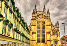 The Abbey Church of Saint Peter and Saint Paul in Bath Stock Images