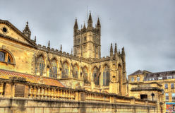 The Abbey Church of Saint Peter and Saint Paul in Bath Royalty Free Stock Photos