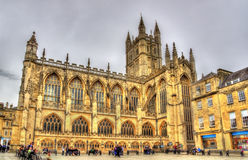 The Abbey Church of Saint Peter and Saint Paul in Bath Stock Image