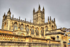 The Abbey Church of Saint Peter and Saint Paul in Bath Stock Photography