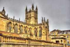 The Abbey Church of Saint Peter and Saint Paul in Bath Royalty Free Stock Image