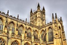 Abbey Church von St Peter und von Saint Paul im Bad Stockfotografie