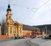 Abbey Church, Wilten, Österreich Stockfoto