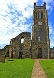 Abbey Clock Tower medieval, Kilwinning, Ayrshire del norte Escocia Fotografía de archivo libre de regalías