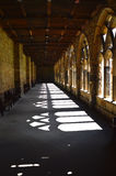 Abbey Cloister. Cloister in Durham Cathedral. Photo taken April 2015 Royalty Free Stock Photos