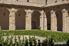Abbey cloister Stock Images