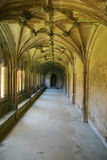 abbey cloisters lacock portret Zdjęcia Royalty Free