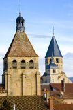 Abbey of Cluny Stock Image