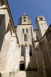 Abbey of cluny vertical Royalty Free Stock Image