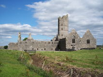 abbey, co Mayo moyne Ireland Fotografia Royalty Free
