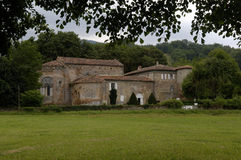 Abbey of  Combelongue, Midi Pyrenees, Royalty Free Stock Images