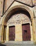 Abbey Conques - Francia Imagen de archivo libre de regalías