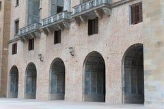 abbey de maria montserrat santa Royaltyfria Foton