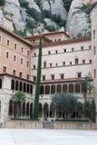 abbey de maria montserrat santa Arkivbild