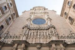 abbey de maria montserrat santa Arkivfoton