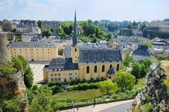 Abbey de Neumunster en Luxemburgo Imágenes de archivo libres de regalías