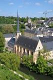 Abbey de Neumunster en Luxemburgo Fotografía de archivo libre de regalías