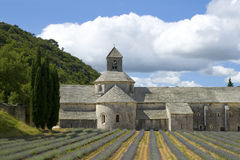 Abbey de Senanque. Frankreich Lizenzfreie Stockbilder