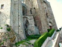 abbey di italienare medeltida michele sacra san Royaltyfri Fotografi