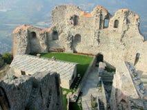 abbey di italienare medeltida michele sacra san Arkivfoto