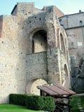abbey di italienare medeltida michele sacra san Royaltyfria Foton