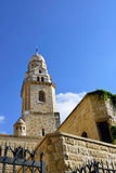 Abbey of the Dormition, Jerusalem. Royalty Free Stock Photo