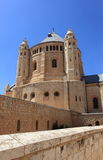 Abbey of Dormition on Mount Zion, Israel Stock Image
