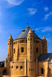Abbey of Dormition in Old City of Jerusalem Stock Images