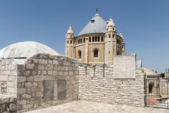 The Abbey of the Dormition Stock Image