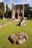 abbey dryburgh 库存照片